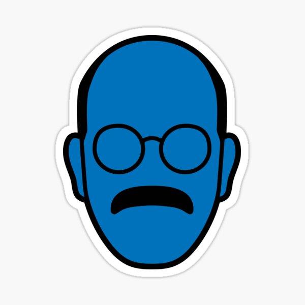 Arrested Development Tobias Blue Man Sticker