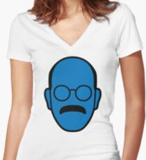 Arrested Development Tobias Blue Man Women's Fitted V-Neck T-Shirt