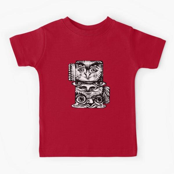 Strange Totem Kids T-Shirt