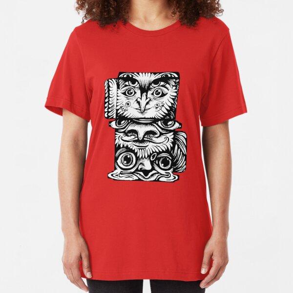 Strange Totem Slim Fit T-Shirt