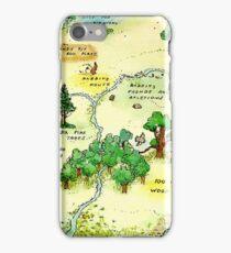 100 Aker Wood Winnie the Pooh By AA Milne iPhone Case/Skin