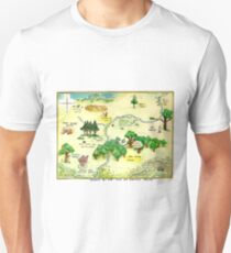 100 Aker Wood Winnie the Pooh By AA Milne Unisex T-Shirt