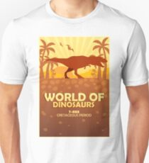 World of dinosaurs. Prehistoric world. T-rex T-Shirt