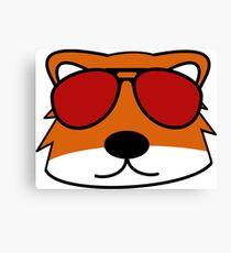 Sly Fox Canvas Print