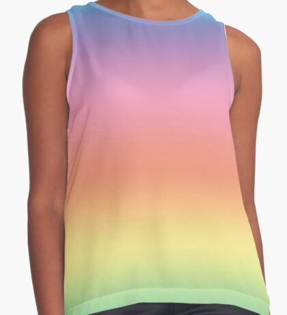 Ombre Pastel by Julie Everhart Sleeveless Top
