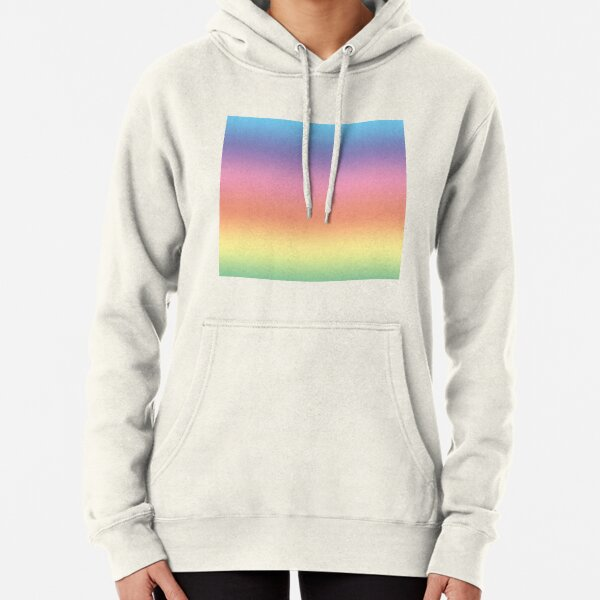 Ombre Pastel by Julie Everhart Pullover Hoodie