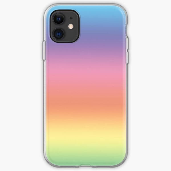 Ombre Pastel by Julie Everhart iPhone Soft Case