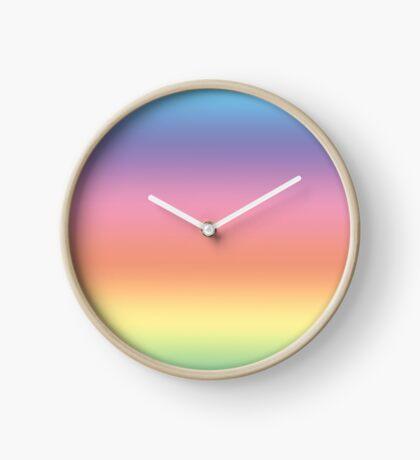 Ombre Pastel by Julie Everhart Clock