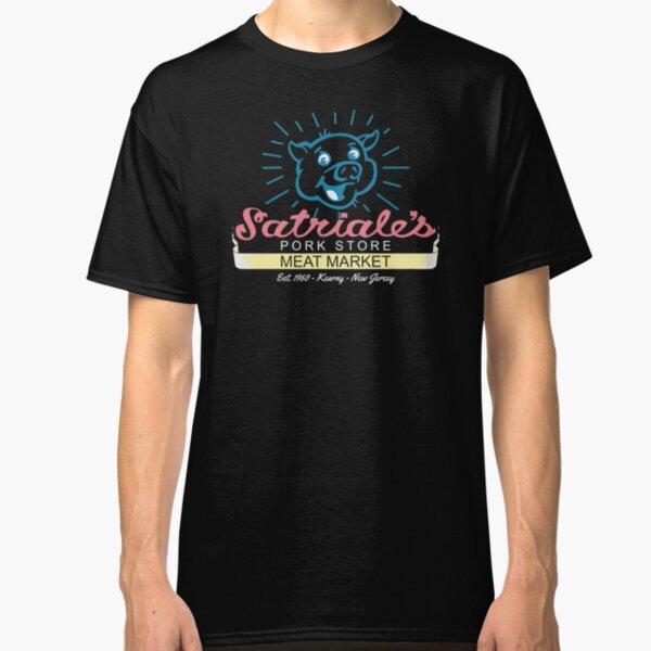 Satriale's - Blue Piggy Logo Classic T-Shirt