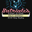 Satriale's - Blaues Piggy Logo von Candywrap Design