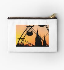Ferris Wheel at Sunset Studio Pouch