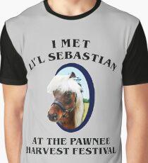 Met li'l sebastian at pawnee harvest festival Graphic T-Shirt