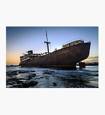 Telamon, AKA Temple Hall Shipwreck Photographic Print