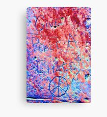 All We Are Saying Is... Canvas Print