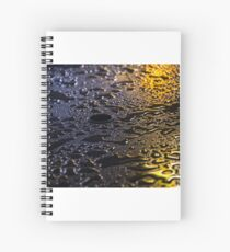 Rain Drops in Color Spiral Notebook