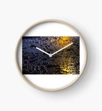 Rain Drops in Color Clock