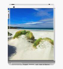 Traigh Eais Beach, Isle of Barra. iPad Case/Skin