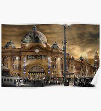 Flinders St Station  Poster