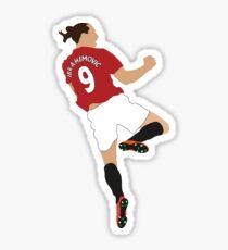 Zlatan Ibrahimovic (Manchester United) Sticker
