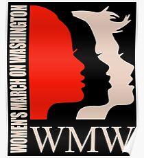 Women March On Washington WMW Poster