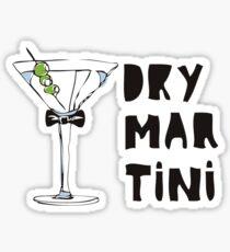 Dry Martini Pegatina