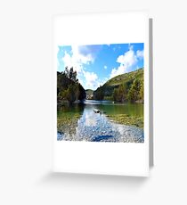 Land Sky-30 Greeting Card