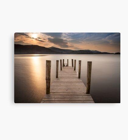 Ashness Landing Derwentwater Canvas Print
