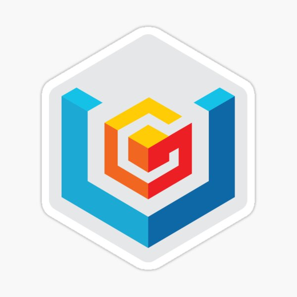 VGfaq Official Logo (w/o text) Sticker