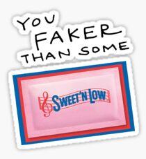 Sweet'N Low. Sticker