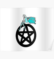 Faerie and Pentacle Poster