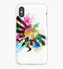 Hylian Paint Splatter iPhone Case