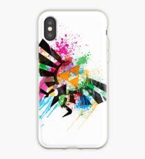 Hylian Paint Splatter iPhone Case