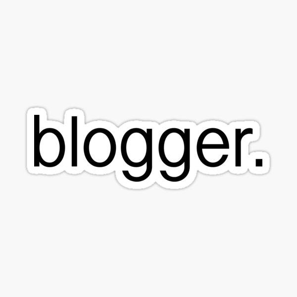blogger. Sticker