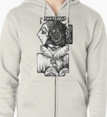 Toad Lady Zipped Hoodie