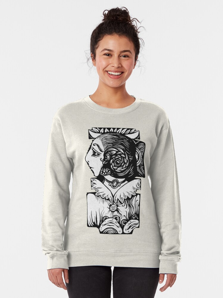Alternate view of Toad Lady Pullover Sweatshirt