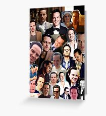 Andrew Scott Collage Greeting Card