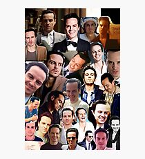 Andrew Scott Collage Photographic Print