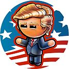 POTUS DONALD Pooterbelly by Pat McNeely