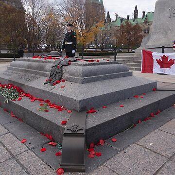 Canadian War Memorial in Ottawa, Canada by josefpittner