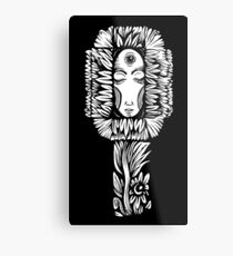 Night Flower Metal Print