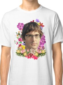 Louis Theroux Floral Classic T-Shirt