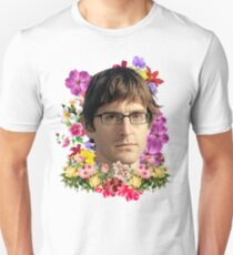 Louis Theroux Floral Unisex T-Shirt