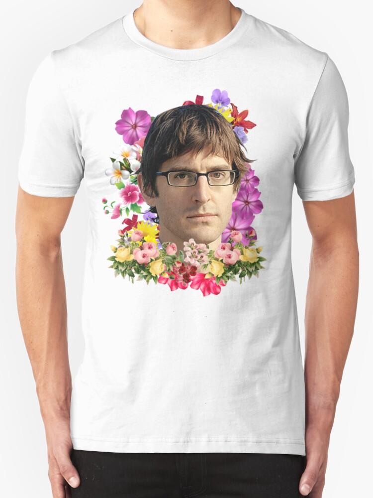 Quot Louis Theroux Floral Quot T Shirts Amp Hoodies By Goofballgear
