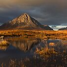 Buachaille Etive Mor. Stormy light. Autumn. Glencoe. Scottish Highlands. by PhotosEcosse