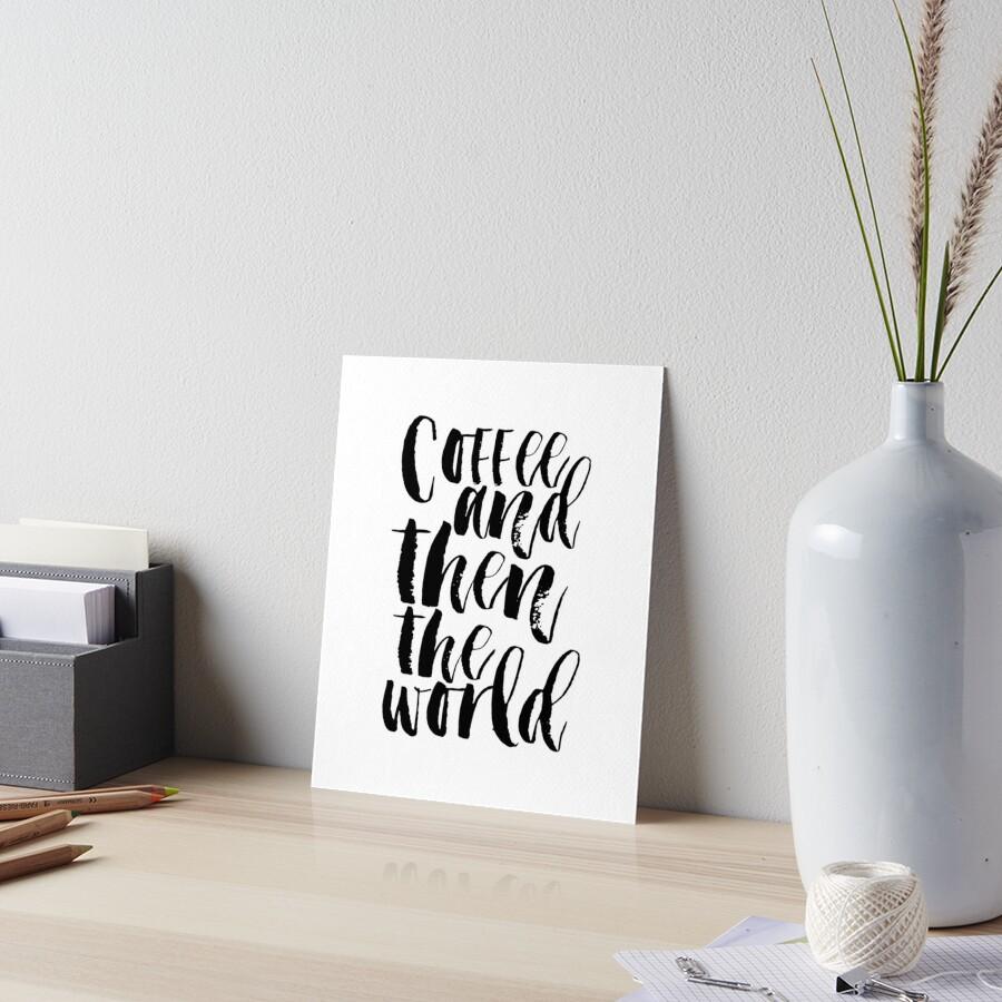 Kaffee Zeichen, Küche Dekor, lustig, aber ersten Kaffee, Kaffee ...