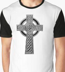 Celtic Religious Cross Christian Irish Graphic T-Shirt