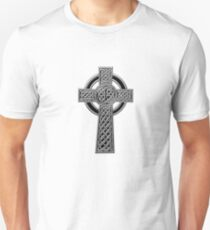 Celtic Religious Cross Christian Irish Unisex T-Shirt