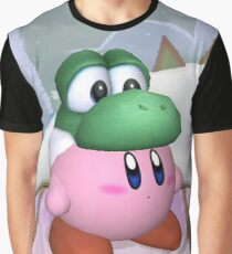 Yoshi and Kirby Graphic T-Shirt