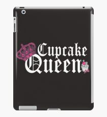 Cupcake Queen Baking Cooking iPad Case/Skin