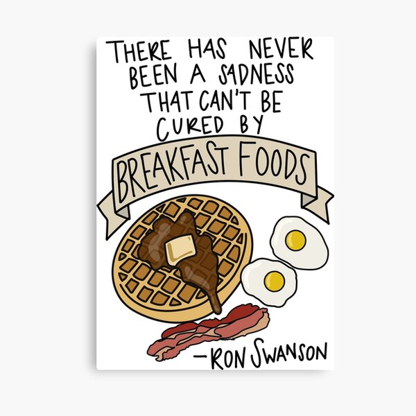 Breakfast Healthy Cafe Food Kitchen SINGLE CANVAS WALL ART Picture Print